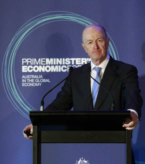 Reserve Bank of Australia Governor Glenn Stevens.