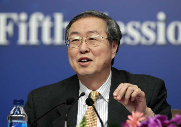China's Central Bank Governor Zhou Xiaochuan.