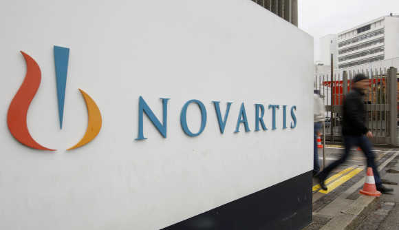 Novartis plant in Basel, Switzerland.