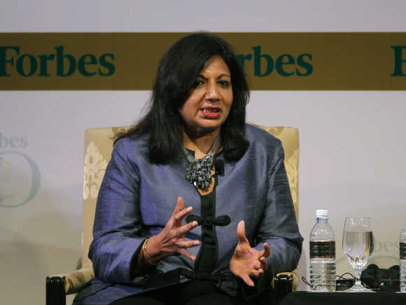 Kiran Mazumdar-Shaw, Biocon Chairman and Managing Director.
