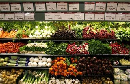 Low output to weigh on food prices