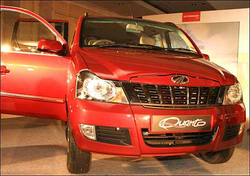 Mahindra plans flexible manufacturing line for Quanto