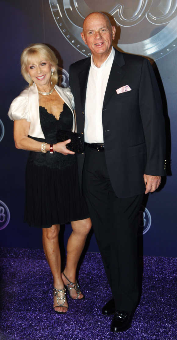 Solomon Lew with his wife.