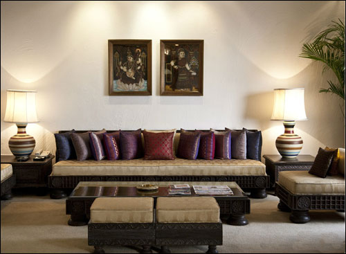 Tanjore Suite Living Area.