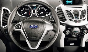 A Ford car interior