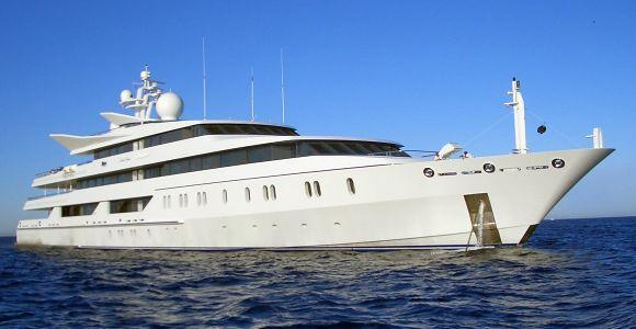 Vijay Mallya's luxury yacht Indian Empress.