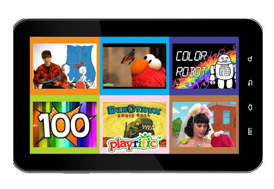 Screenshot of Playrific app.