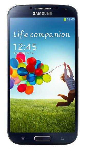 Galaxy S4.