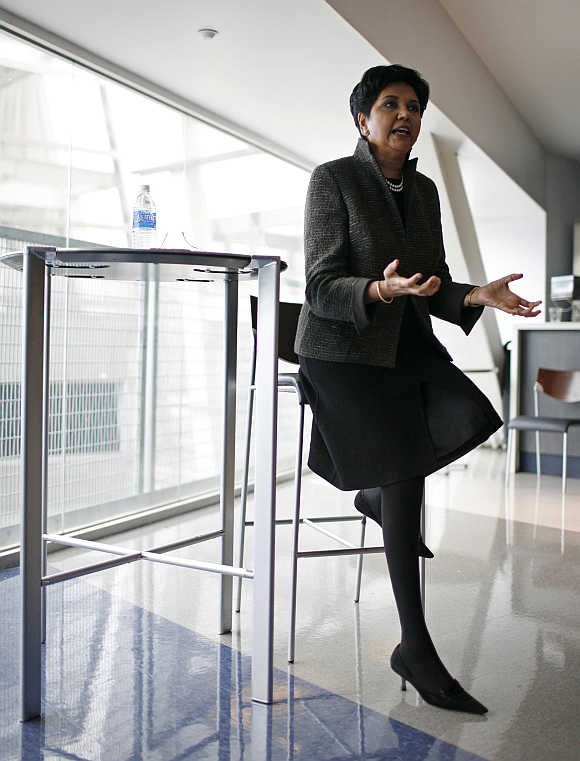 PepsiCo Chairperson and CEO Indra Nooyi in New York.