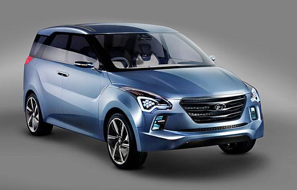 Hyundai's Hexa Space concept car.