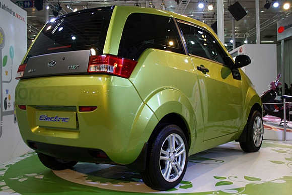 Mahindra Reva Plans More Electric Cars Rediff Com Business