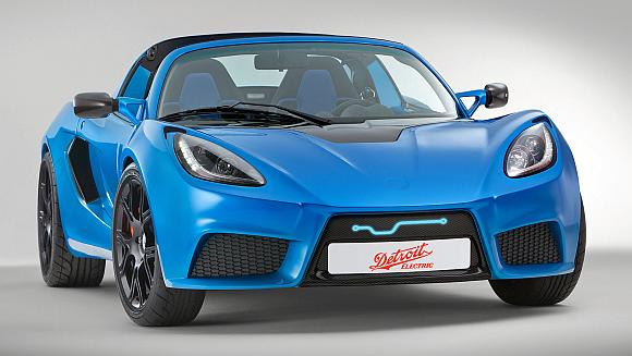 World's fastest electric sports car