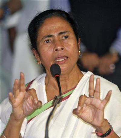 West Bengal Chief Minister Mamata Benerjee.