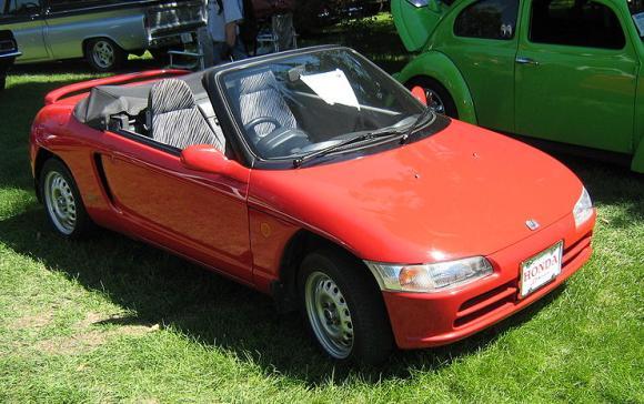 Honda's kei car Beat.