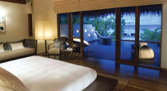 Huvafen Fushi Island Resort, Maldives.