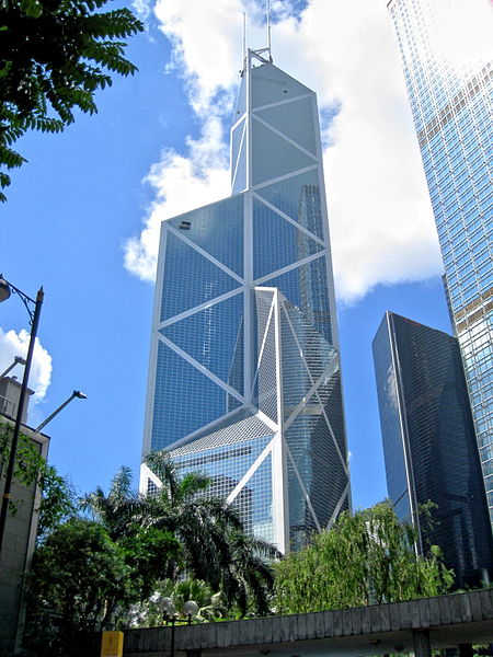 Bank of China Tower in Hong Kong.
