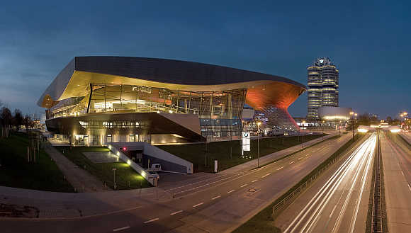 BMW Welt in Munich, Germany.