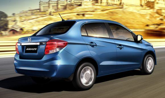 Honda launches Amaze starting at Rs 4.99 lakh