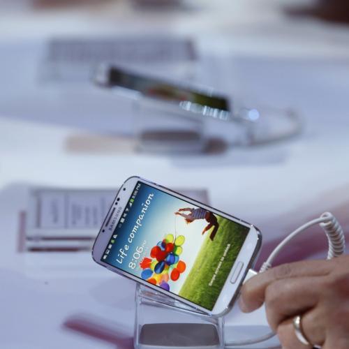Samsung Galasxy S4.