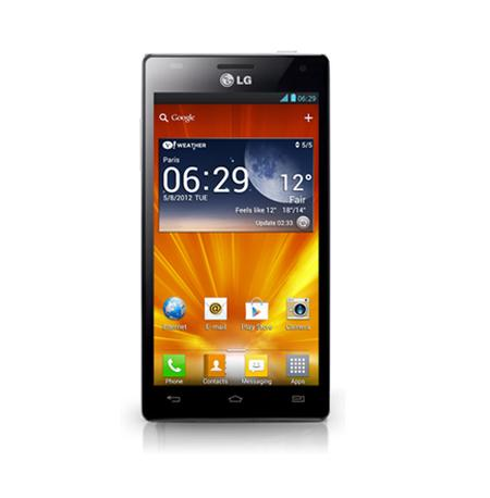 LG's new Optimus 4X HD P880 smartphone.