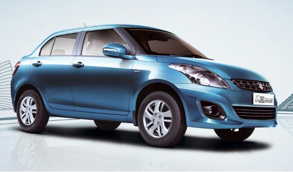 Swift Dzire.