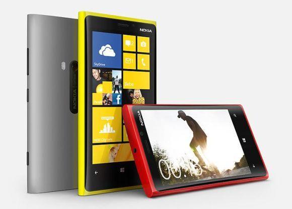 Lumia smartphones.