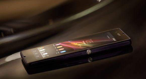 Sny Xperia smartphone.