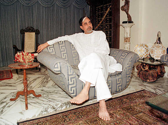 Subhash Chandra in Mumbai.
