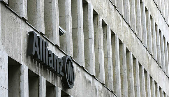 Allianz's main office in Cologne, Germany.