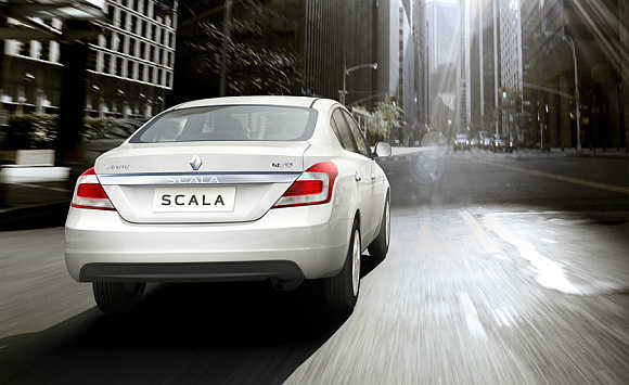 Renault Scala CVT was launched towards the beginning of this year.