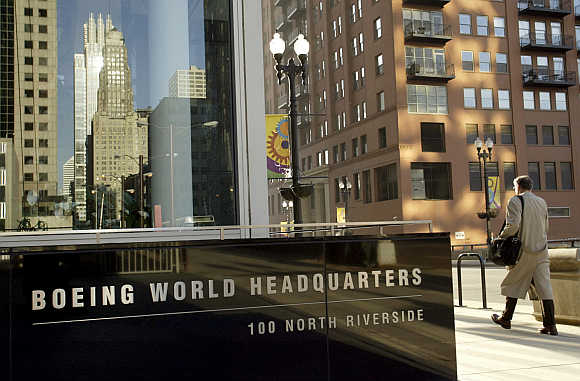Boeing World Headquarter's in Chicago.
