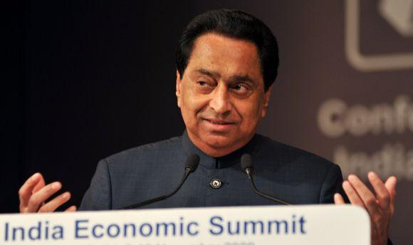 Minister of Urban Development Kamal Nath. He was earlier in charge of Ministry for Road Transport and Highways.