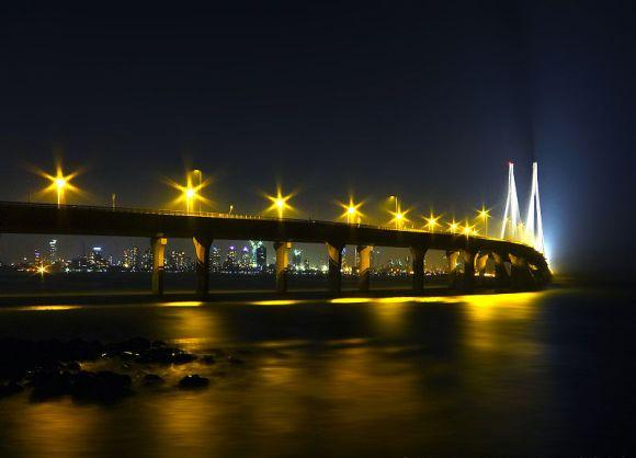 Bandra-Worli Sea Link, Mumbai.