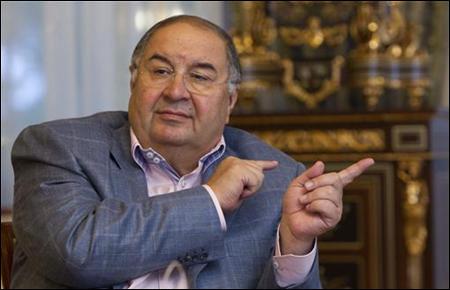 Metalloinvest founder Alisher Usmanov