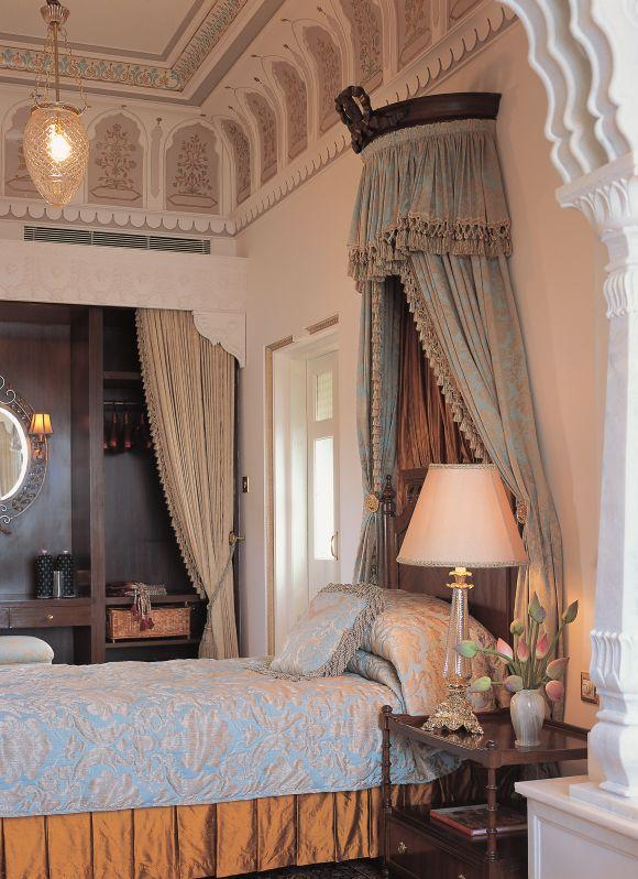 Shambu Prakash suite at the Taj Lake Palace, Udaipur.