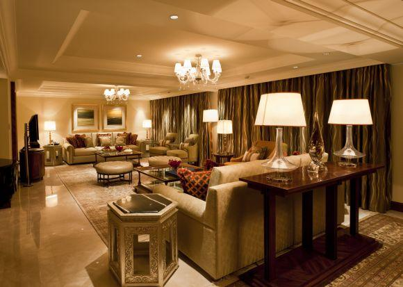 Tata Suite at the Taj Palace Hotel, New Delhi.
