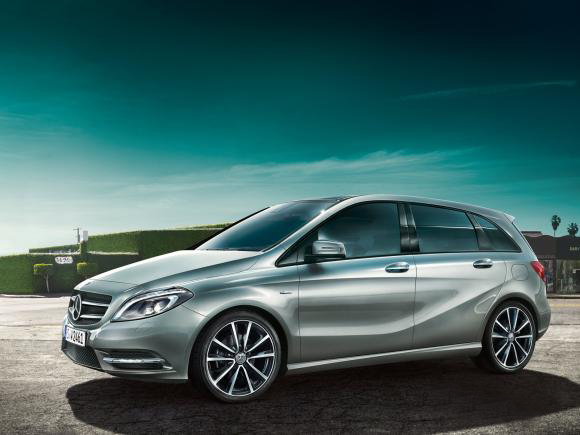 Mercedes B Class Sports Tourer.