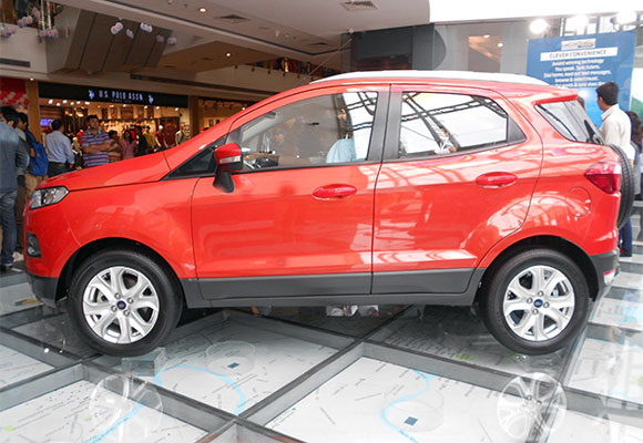 Ford EcoSport can give other SUVs a run for their money