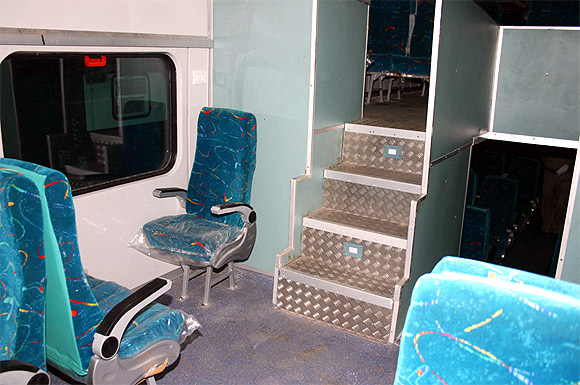 India's beautiful double decker trains