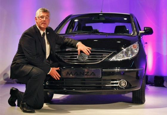 Tata Motors Managing Director Karl Slym.