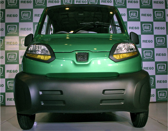 Bajaj's first-ever four-wheeled vehicle RE60.