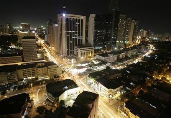 Manila city Skyline.
