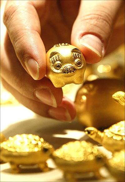 Global gold demand fell 15% in 2013