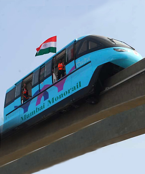 Mumbai Monorail.