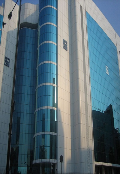 The Securities and Exchange Board of India headquarters.