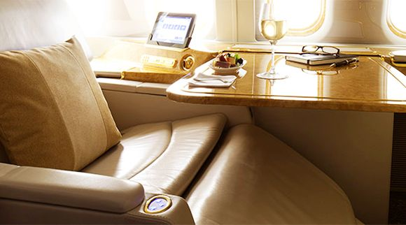 A seven-star hotel in the air