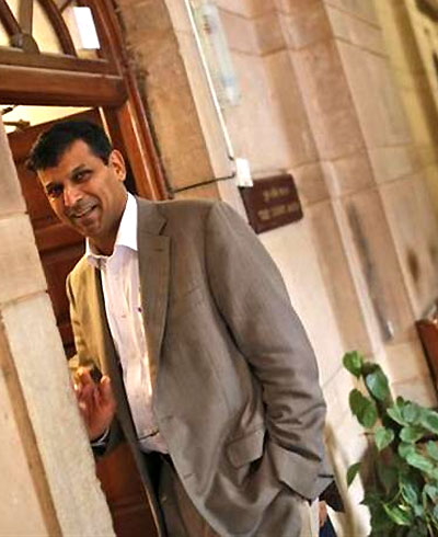 New RBI Governor Dr Raghuram G Rajan.