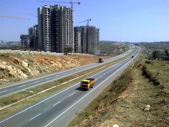 BMIC Expressway at Mallasandra.