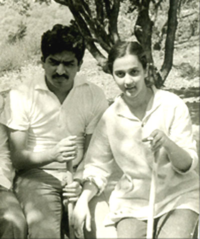 A file photo of Nandan Nilekani and Rohini Nilekani.