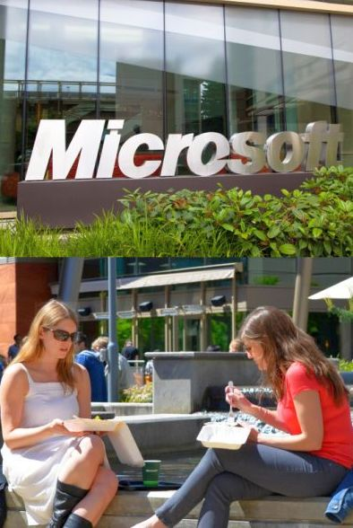 A tour of Microsoft's Redmond campus